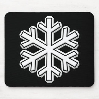Snowflake Mouse Pad