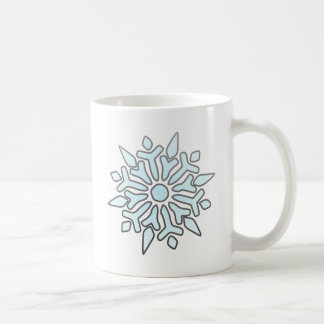 Snowflake Classic White Coffee Mug