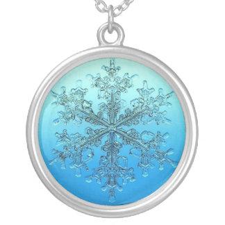 Snowflake necklace