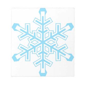 Snowflake Notepad