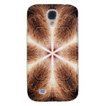 Snowflake of Sparks Samsung Galaxy S4 Covers