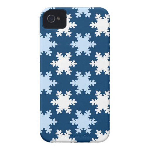 Snowflake or Holly Christmas Smartphone Cases Case-Mate iPhone 4 Cases