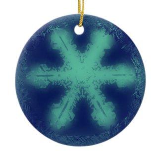 Snowflake Ornament 4 ornament