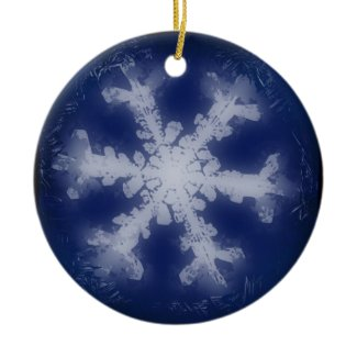 Snowflake Ornament 6 ornament