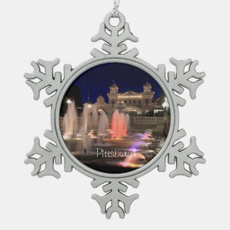 Snowflake-Ornament-Pittsburgh-Kennywood-Photo Snowflake Pewter Christmas Ornament