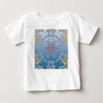 snowflake pattern baby T-Shirt