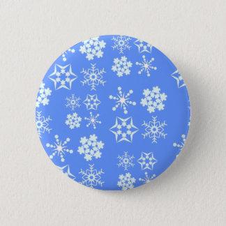 Snowflake Pattern Button