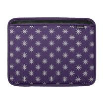 """Snowflake pattern custom 13"""" MacBook sleeve"""
