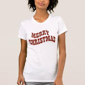 Snowflake Pattern Merry Christmas Shirts