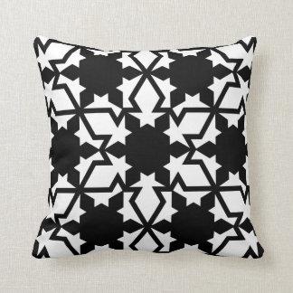 Snowflake Pattern Pillow
