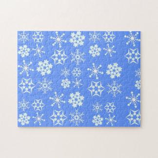 Snowflake Pattern Puzzles