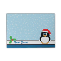 Snowflake Penguin Christmas Post-it® Notes