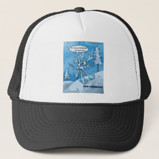 Snowflake Philosophers Funny Gifts Tees Cards Etc Trucker Hat