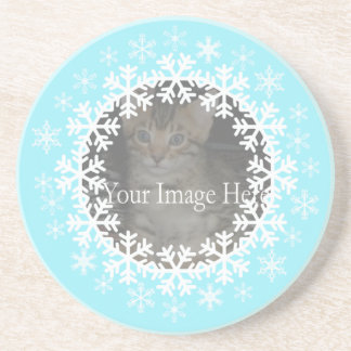 Snowflake Photo Coasters