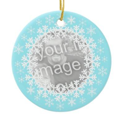 christmas ornament card photo greeting holiday santa