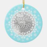 Snowflake Photo Ornament