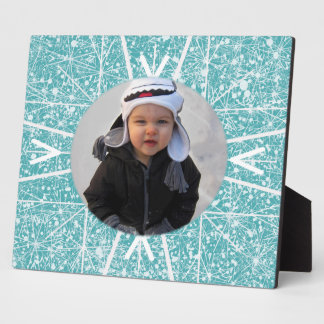 Snowflake Photo Plaque