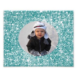 Snowflake Photograph Mat