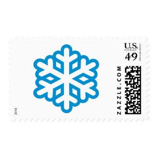 Snowflake Postage Stamp