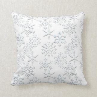 Snowflake Print MoJo Pillows