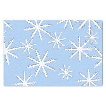 Snowflake Print Tissue Paper