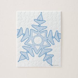 Snowflake Jigsaw Puzzles