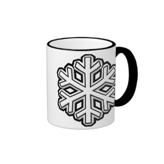 Snowflake Ringer Mug