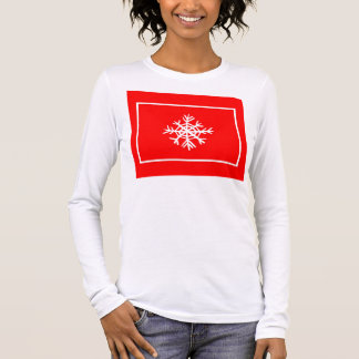 Snowflake Shirt Top