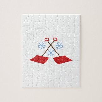 Snowflake Shovels Puzzle