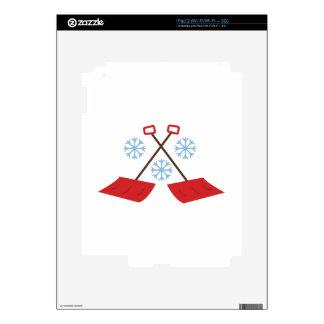 Snowflake Shovels Skins For iPad 2