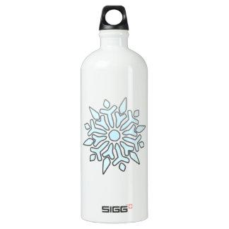 Snowflake SIGG Traveler 1.0L Water Bottle