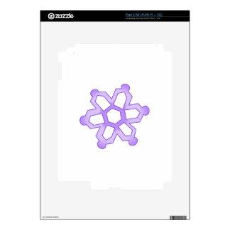 SNOWFLAKE iPad 2 SKIN