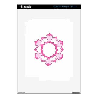SNOWFLAKE SKINS FOR iPad 3