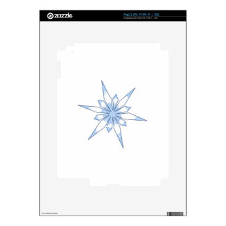 SNOWFLAKE SKINS FOR iPad 2