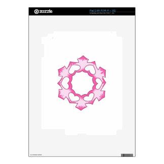 SNOWFLAKE SKIN FOR iPad 2