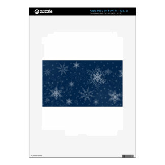 Snowflake Skin For iPad 3