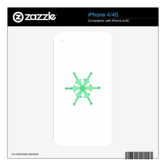 SNOWFLAKE SKIN FOR iPhone 4S