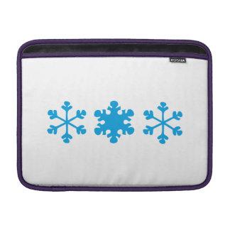 snowflake sleeves fürs MacBook air
