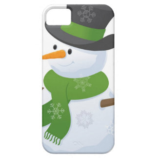 Snowflake Snow Winter Snowy Blizzard Snowman iPhone SE/5/5s Case