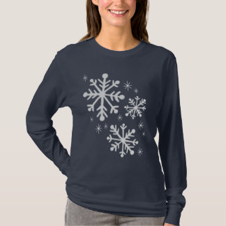 Snowflake Snowflakes Winter T-Shirt Top