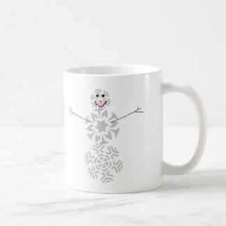 Snowflake Snowman Coffee Cup