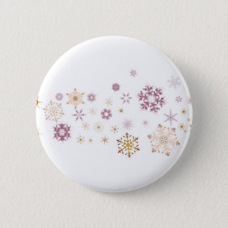 Snowflake Spangled Background Button