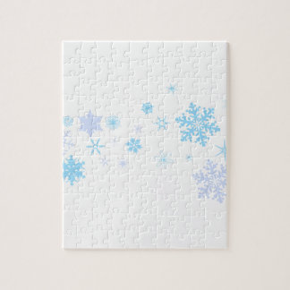 Snowflake Spangled Banner Jigsaw Puzzle