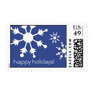 Snowflake Stamp - happy holidays!