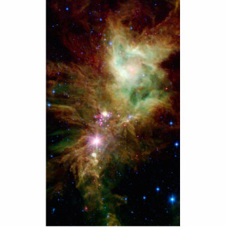 Snowflake Star Cluster Space NASA Standing Photo Sculpture