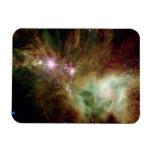 Snowflake Stars Rectangle Magnets