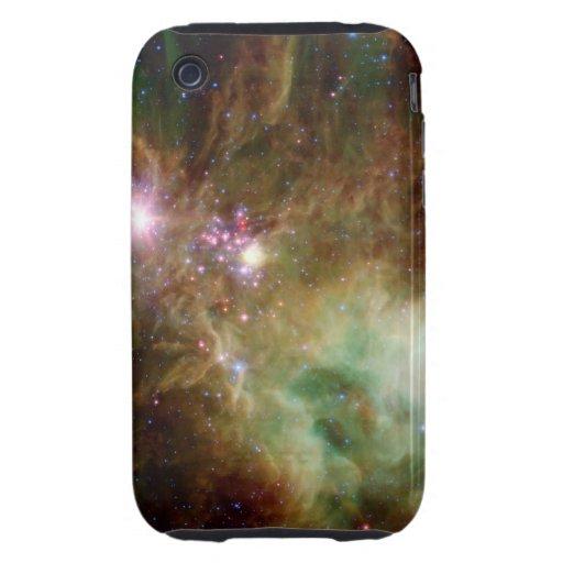 Snowflake Stars Tough iPhone 3 Cover