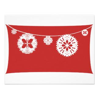 Snowflake String Custom Invite