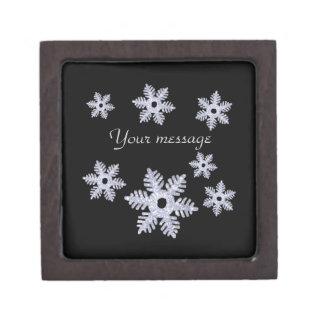 Snowflake~Style A Keepsake Box