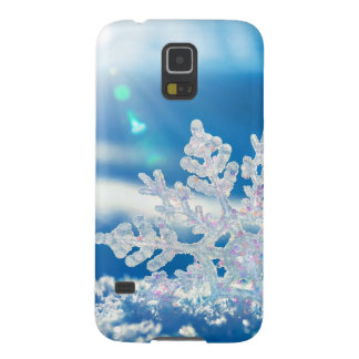snowflake sunshine galaxy s5 cover
